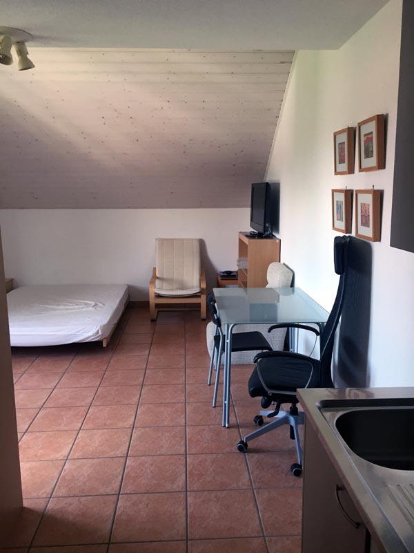 Studio meubl lausanne r f 008 cotacot for Location studio meuble geneve
